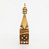 Hänge, 18k guld, syntetiska spineller och en safir. finlandia koru, helsingfors 1992.