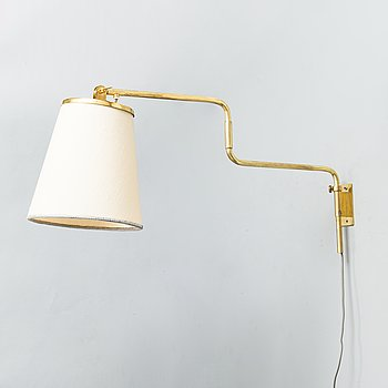 Paavo Tynell, , A mid-20th-century '9414' wall light for Taito Finland.