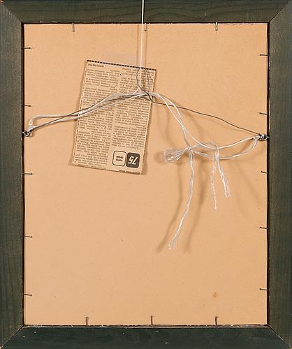 Nikolai lehto, oil on panel, signed and dated -46.