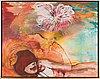 Marikka kiirikoff, oil on canvas, a tergo signed och dated 2001.
