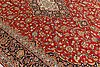 A carpet, kashan signed, ca 527 x 337 cm.