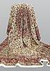 A carpet, tabriz part silk, so called 50 raj, cm 400 x 300 cm.