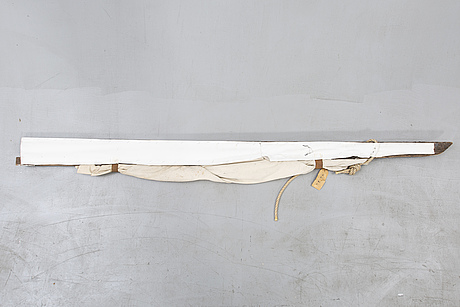 Dan nygårds, sculpture signed and dated 89 mixed media.