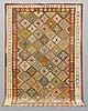 A carpet, kilim, ca 299 x 222 cm.