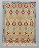A carpet, kilim, 297 x 205 cm.
