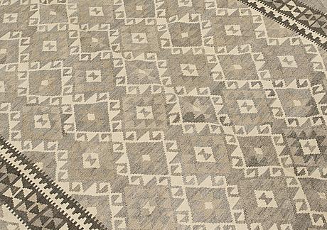 Matto, kilim, ca 241 x 162 cm.