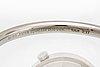 Wristwatch torun nr 237, stainless steel, manual, 26 mm, circumference approx 16cm, georg jensen.