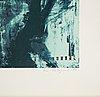 Ola billgren, färglitografi, 1983, signerad 184/200.