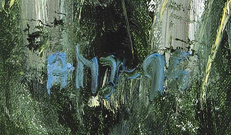 Ann-marie jönsson, olja på duk, signerad amj.