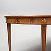 A mid 20th century mahogany dining table, bodafors smf.