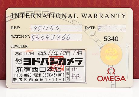 Omega, speedmaster, wristwatch, 39 mm.