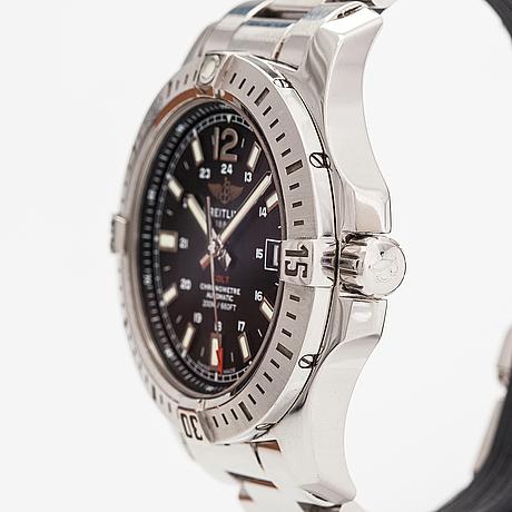 Breitling, colt, wristwatch, 41 mm.
