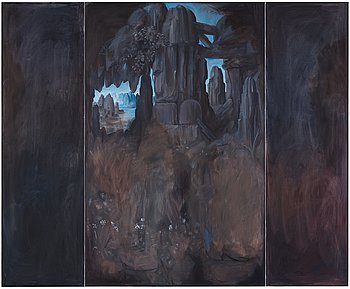 "279. Ylva Snöfrid (Ogland), ""Grotto, The Real World""."