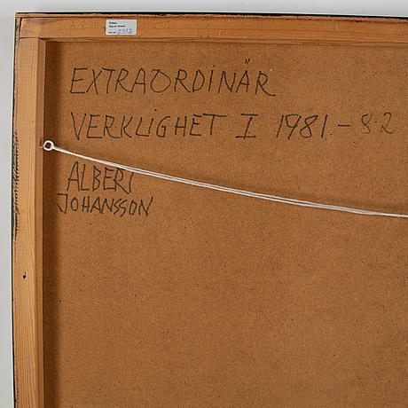 Albert johansson, oil on panel, signed.