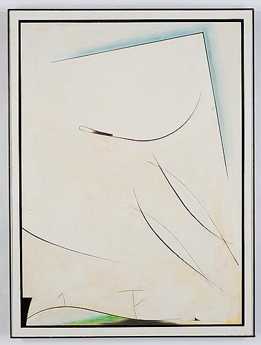 Albert johansson, oil on panel, signed verso.