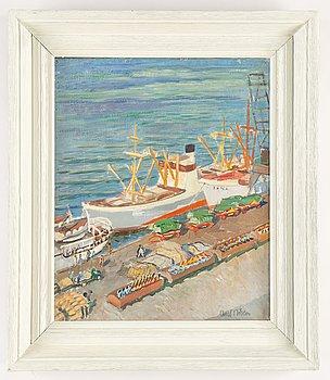 Axel Nilsson, oil on canvas, signed Axel Nilson.