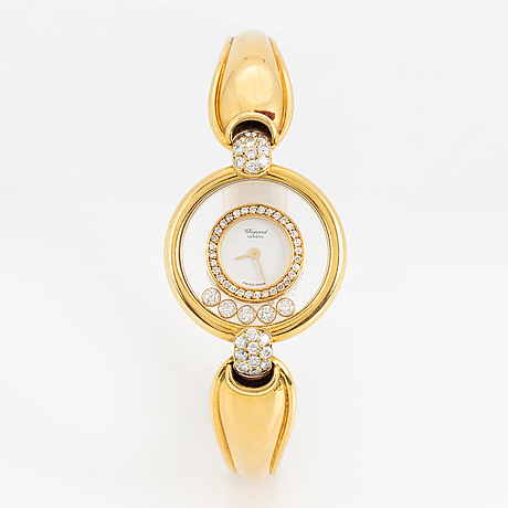 Chopard, genève, happy diamonds, wristwatch, 25 mm.