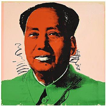 """451. Andy Warhol, """"Mao""""."""