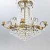 A gustavian style chandelier mid 1900s/later part.