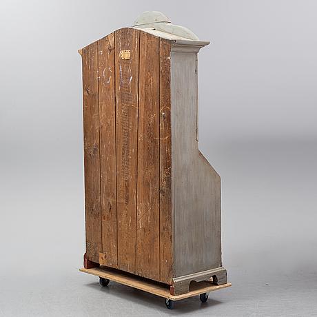 An early 19th century swedish cupboard.