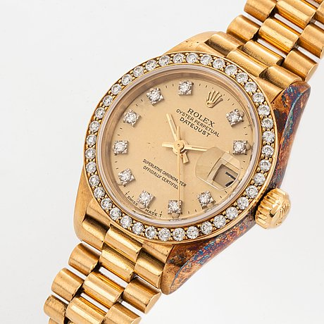 Rolex, datejust.