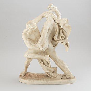 Johan Peter Molin, after. A porcelain sculpture from Gustafsberg, 1894.