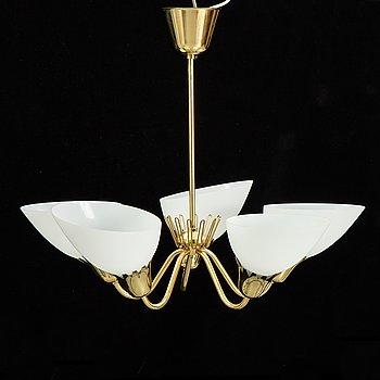 A swedish modern ceiling light, 1950's.