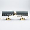 A pair of falkenbergs wall lamps 1950/60s.