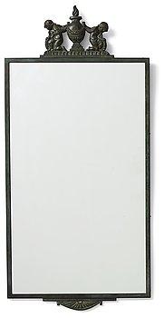 286. Oscar Antonsson, a wall mirror, Ystad Metallindustri, Sweden 1920's.