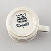 """Ulla procopé, a 20 pcs stoneware coffee service """"koralli"""", arabia, finland."""