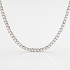 A tillander, an 18k white gold necklace with brilliant cut diamonds ca. 26.22 ct in total. helsinki 2001.