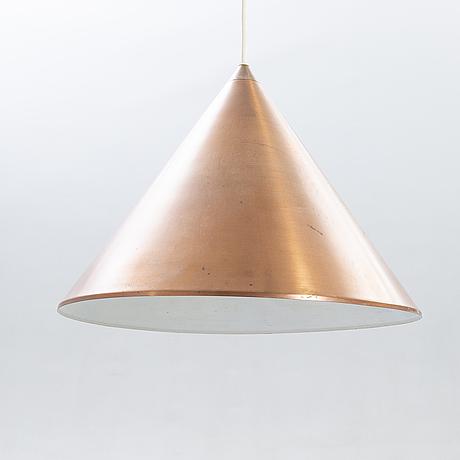 "Arne jacobsen, ""billiard pendulum"", louis poulsen, copper."