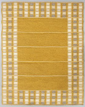 Ingrid Dessau, A Swedish 1950- 1960s flatweave carpet.