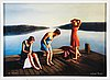 Karin broos, giclée print, signed and numbered se 10/90.