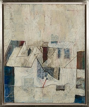 Anders Österlin, oil on canvas, signed and dated 1961.