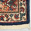 A carpet, antique/semi-antique mahal, ca  340 x 130-138 cm.