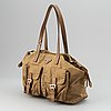Prada, a nylon handbag.