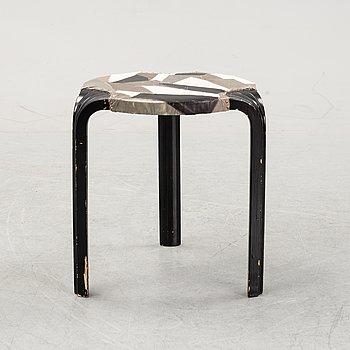 "Alvar Aalto, an ""X600"" stool, Artek, Finland mid 20th century."
