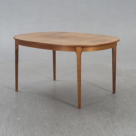 Table, walnut, sweden, 1960s.