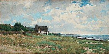 508. Axel Lindman, Coastal landscape.