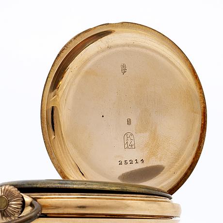 Hunter, pocket watch, 52 mm.