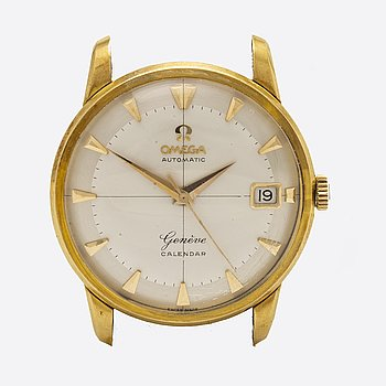 OMEGA, Genéve Calendar, wristwatch, 35 mm.