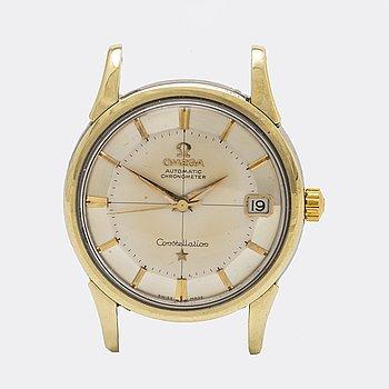 Omega Constellation Chronometer, Pie-Pan, wristwatch 34 mm.