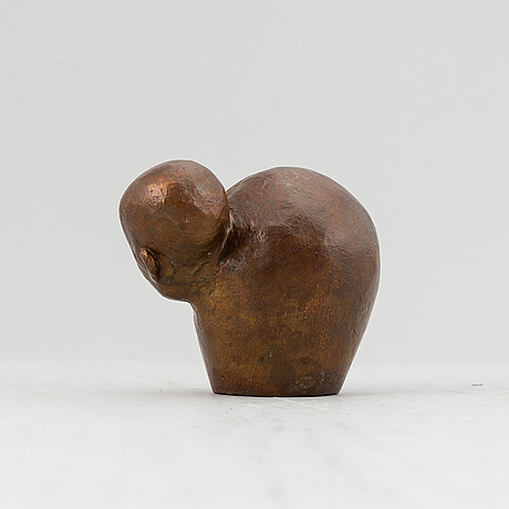 Bianca maria barmen, bronze, sculpture, 2008, signed and numbered 8/12.
