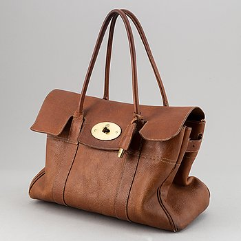 Mulberry, a 'Bayswater' leather handbag.