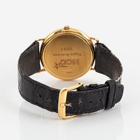 Omega, jubilee, armbandsur, 34 mm.