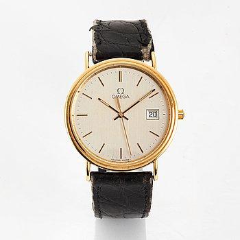 Omega, Jubilee, wristwatch, 34 mm.