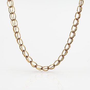 A 14K gold necklace. Westerback, Helsinki 1966.