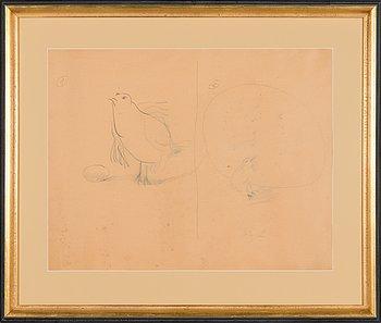 """Olli Lyytikäinen, """"Birds 1 and 2""""."""