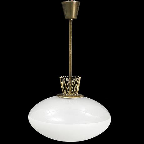 A swedish modern ceiling light, 1940's.
